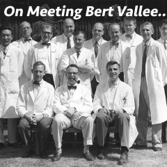 On Meeting Bert Vallee