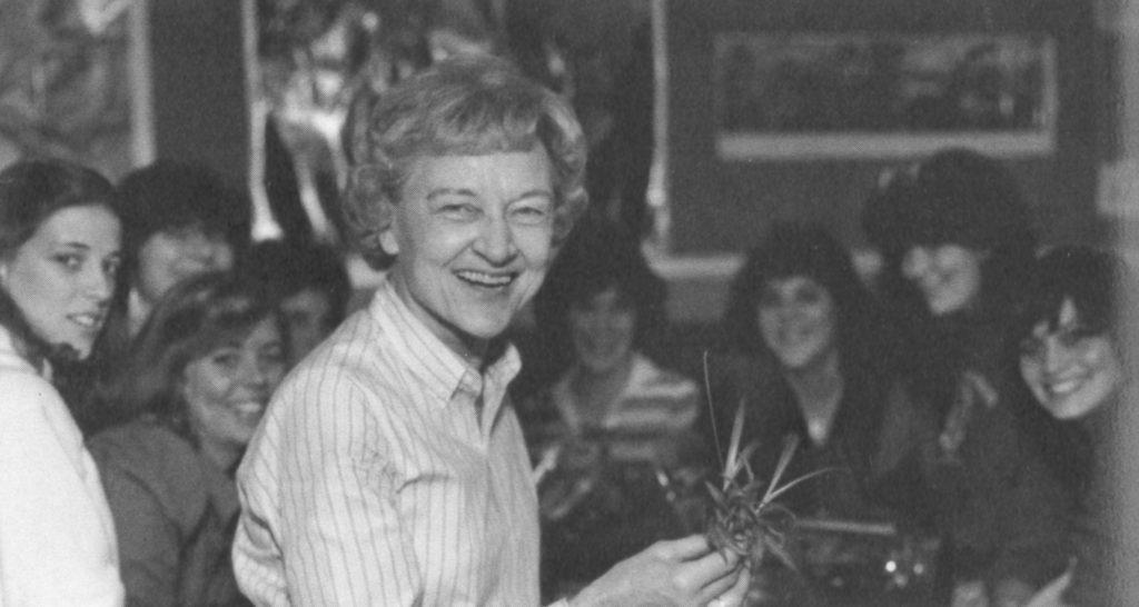 NKV at Lesley College 1983